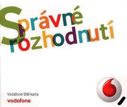 3 měsíce předplacený Mobilní internet s FUP 4GB od Vodafone s 70% slevou